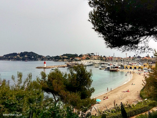 """the beach - St Jean Cap Ferrat all over again"""