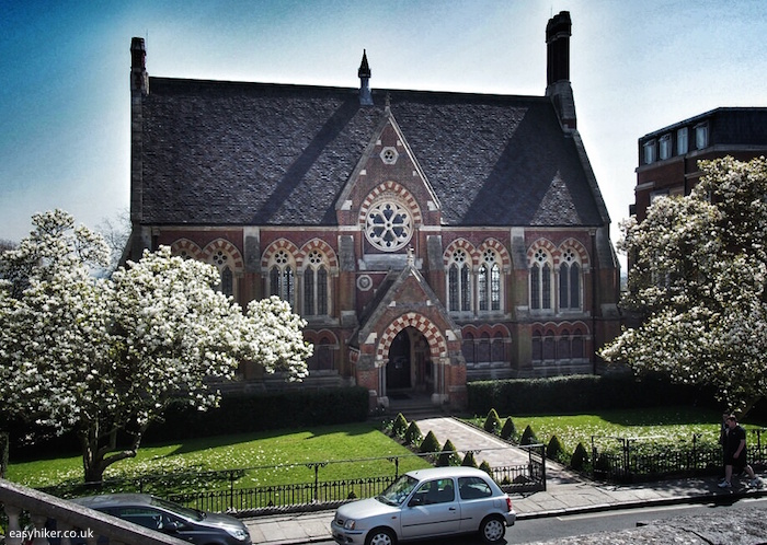 """Vaughan Library designed by George Gilbert Scott"""