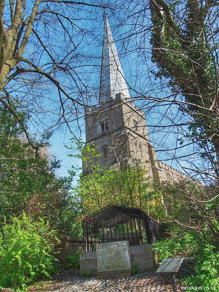 """Beneath an Elm in the Churchyard of Harrow"""