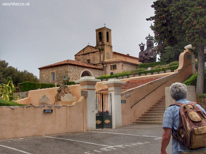 """St Hospice Chapel - St Jean Cap Ferrat all over again"""