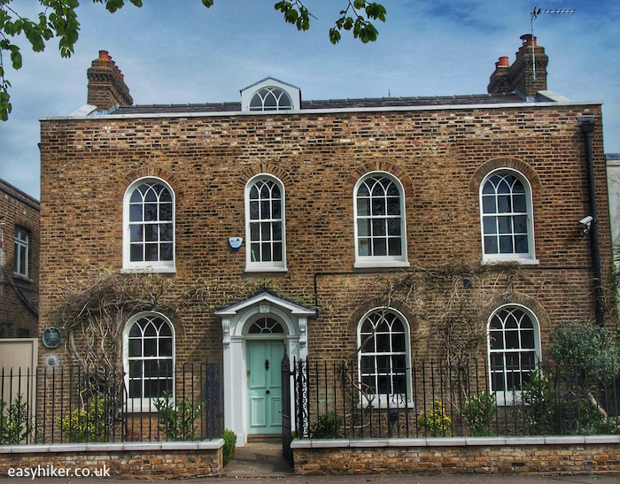 """""""last abode of Charles and Mary Lamb, the authors of Tales from Shakespeare"""""""