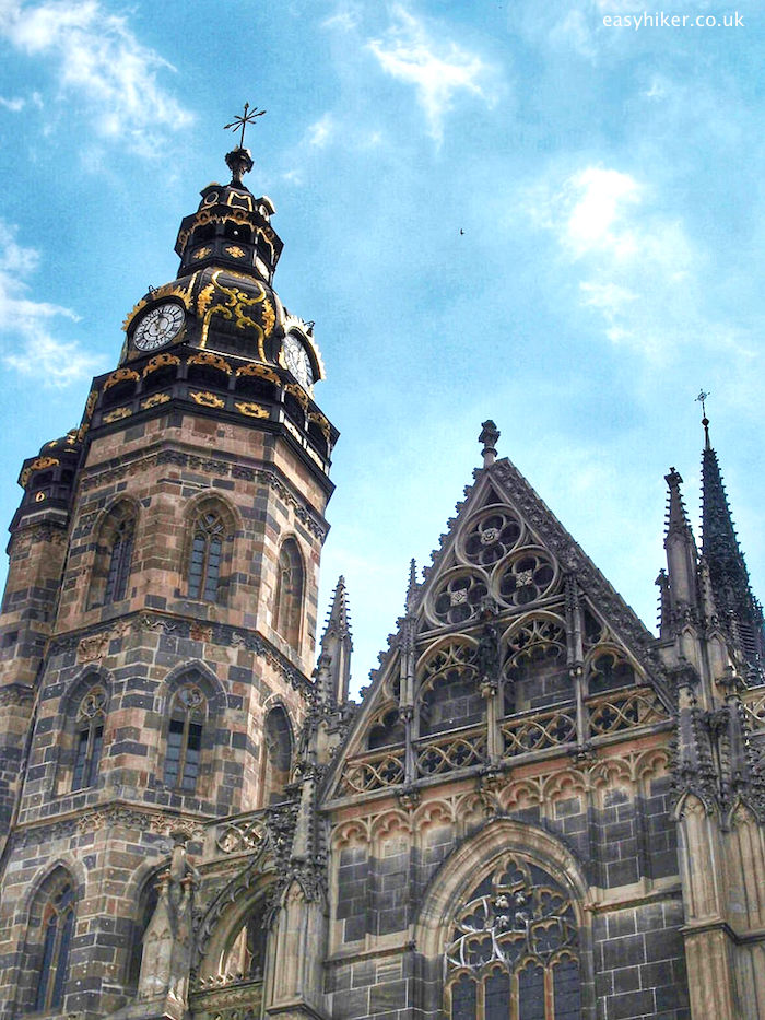 """St Elizabeth Cathedral of Kosice on a walk through the tides of history"""