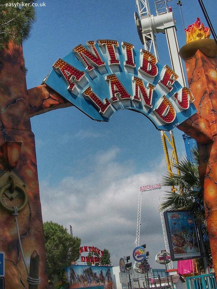 """Antibes Land amusement park in Biot"""
