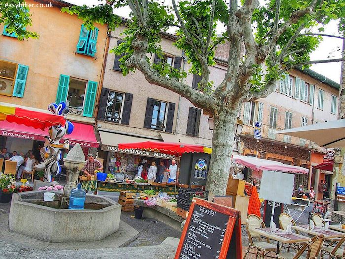 """""""town market of Biot that makes the back country wins"""""""