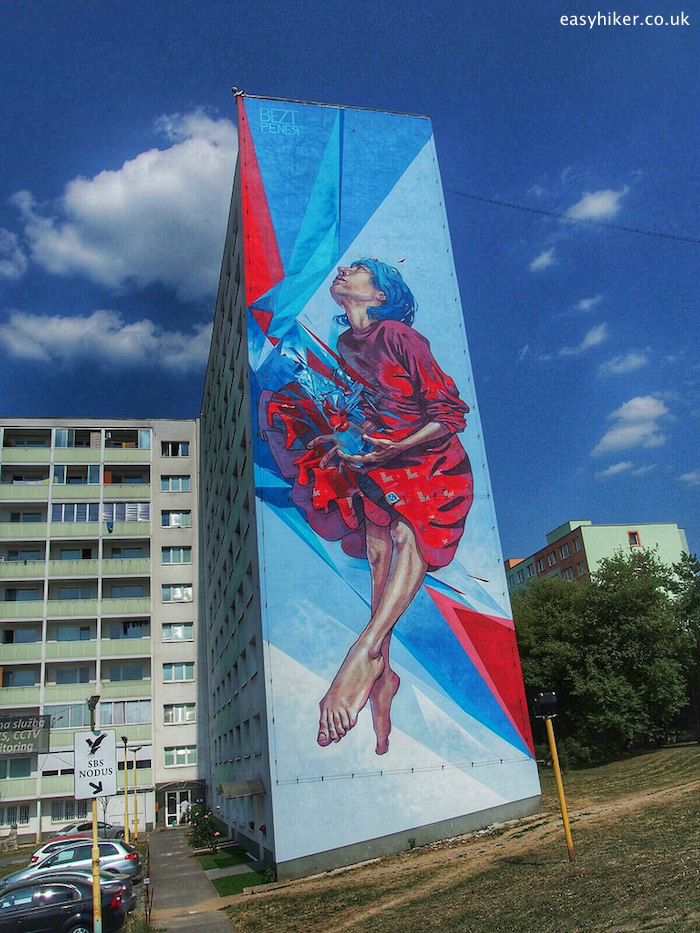 """""""largest and one of the best murals in the world, in Kosice, Slovakia"""""""