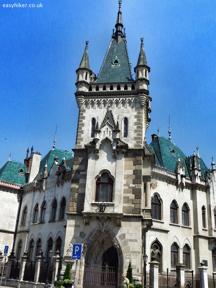 """neo-Gothic Jakabov Palace in Kosice on a walk through the tides of history"""
