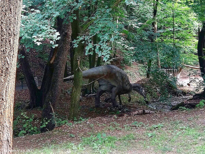 """Dino Park in the Kosice Zoo"""