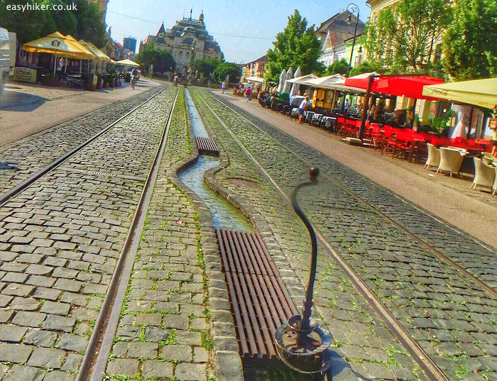 """Kosice high street - a walk through the tides of history"""