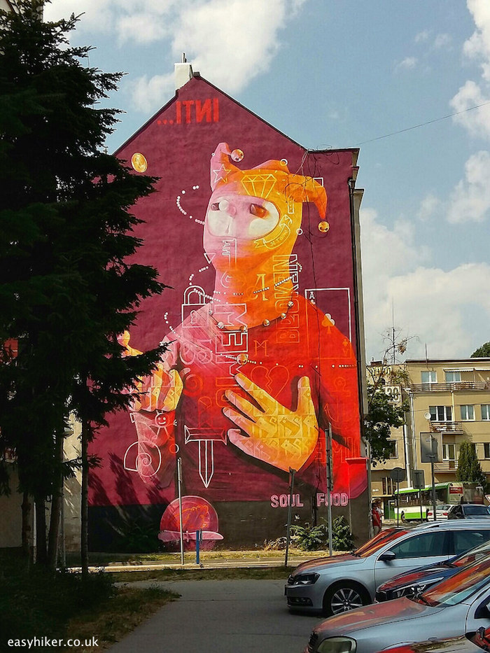 """""""Soul Food - one of the murals of Kosice, Slovakia"""""""