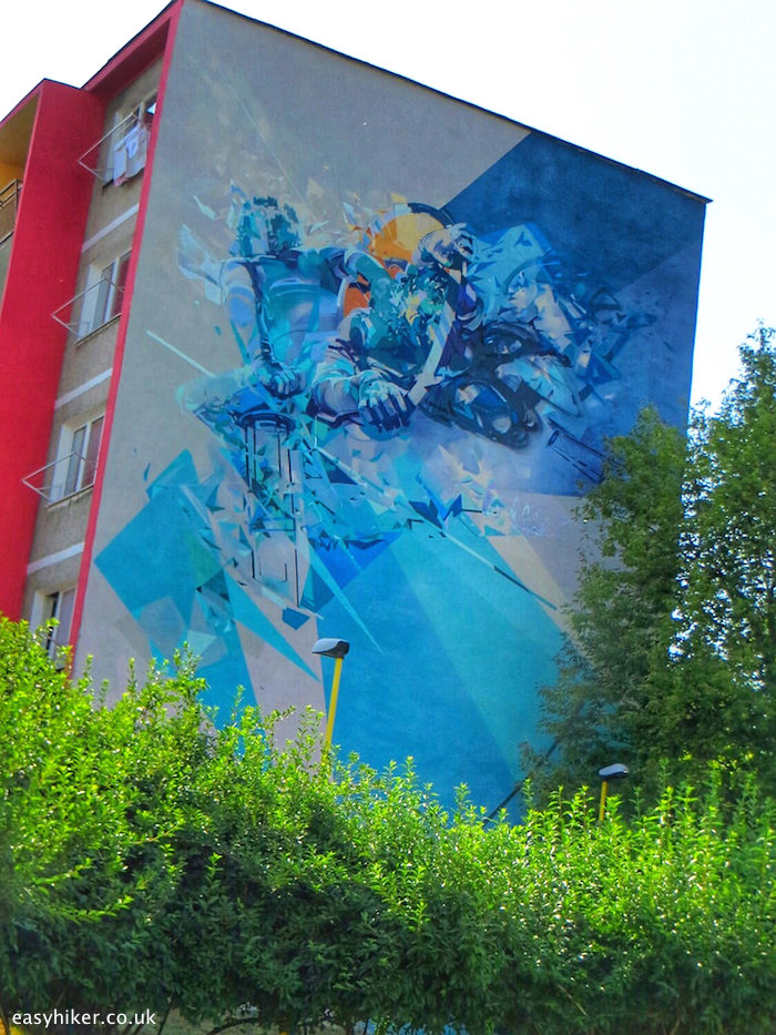 """""""Robert Proch's and Pener's """"Liar"""", one of the murals of Kosice"""""""