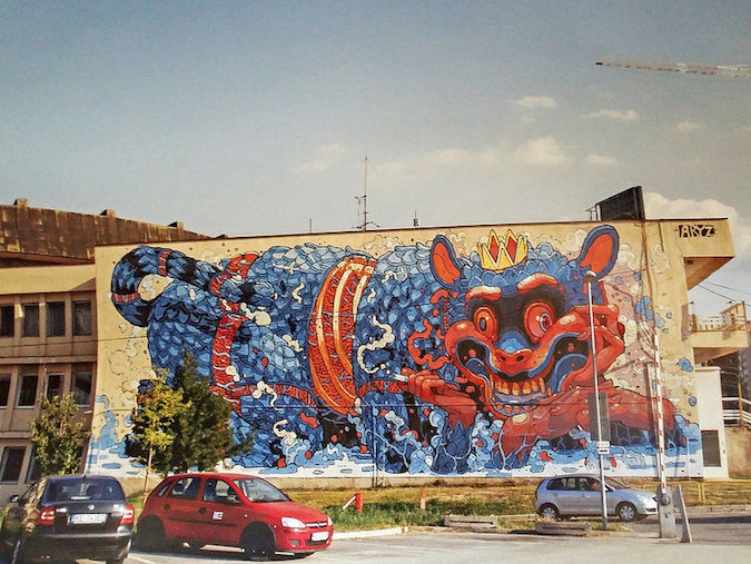 """Murals of Kosice"""