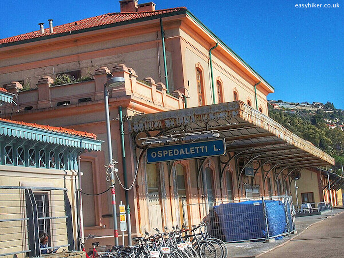 """old Ospedaletti train station"""