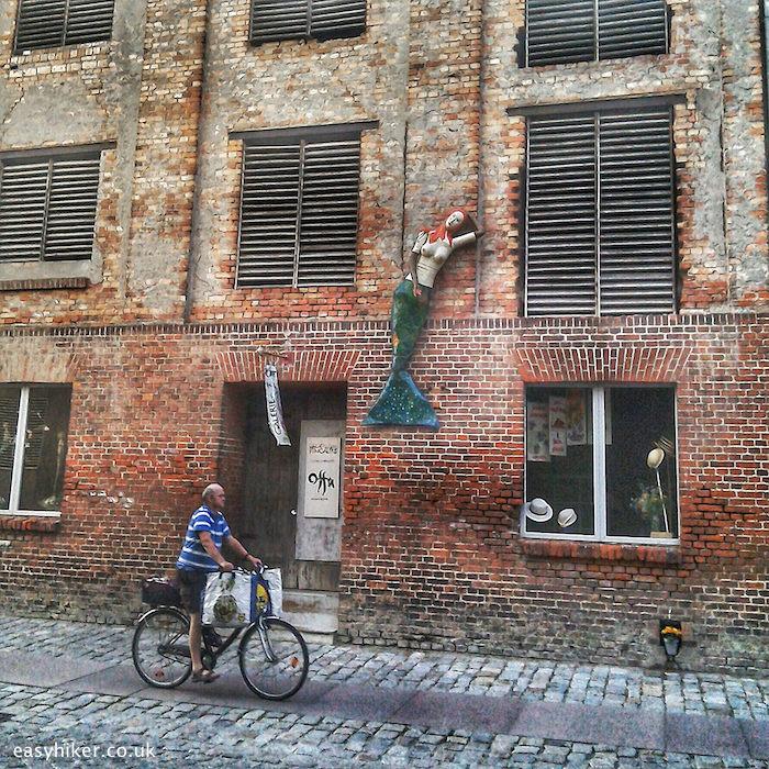 """""""street in Stralsund - Gateway to Ruegen and Usedom"""""""