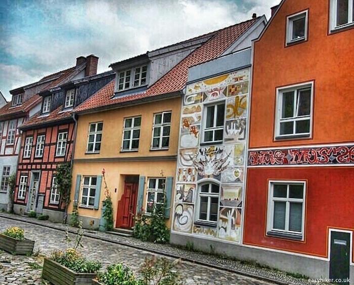 """""""a street in Stralsund - gateway to Ruegen and Usedom"""""""
