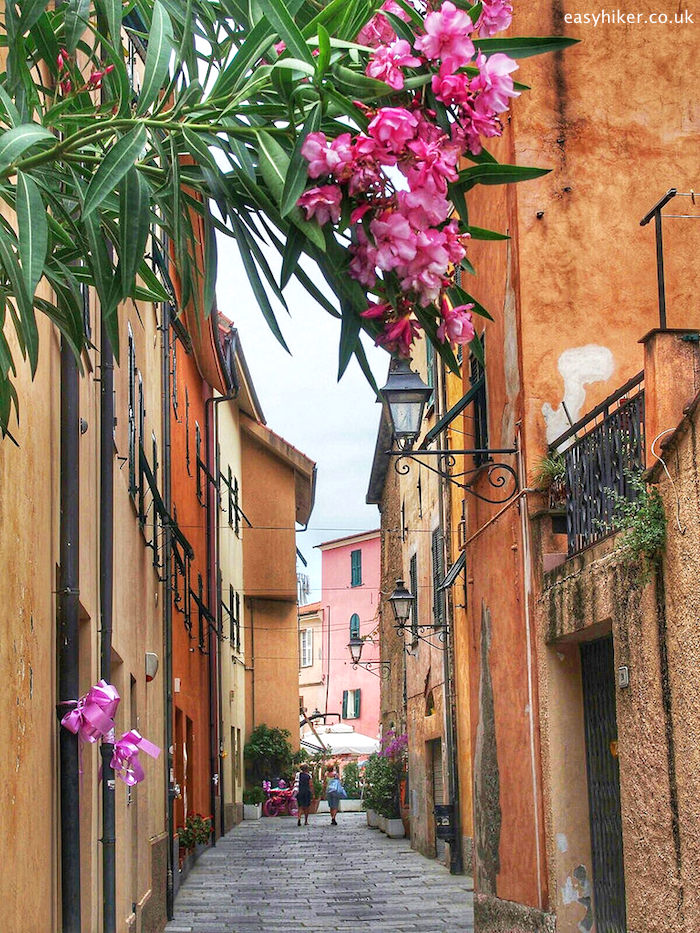 San Lorenzo al Mare, one of the Rip van Winkle Villages of the Italian Riviera""