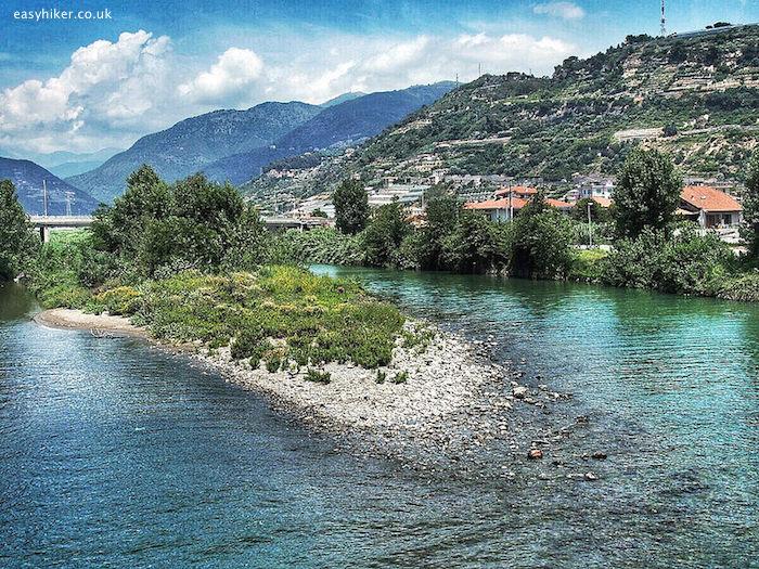 """""""Taggia river in Liguria"""""""