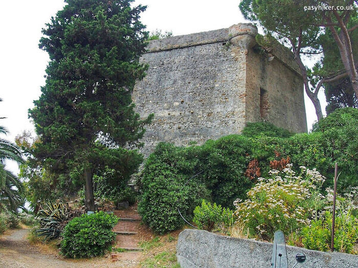 """Torre degli Aregai, in one of the Rip van Winkle Villages of the Italian Riviera"""