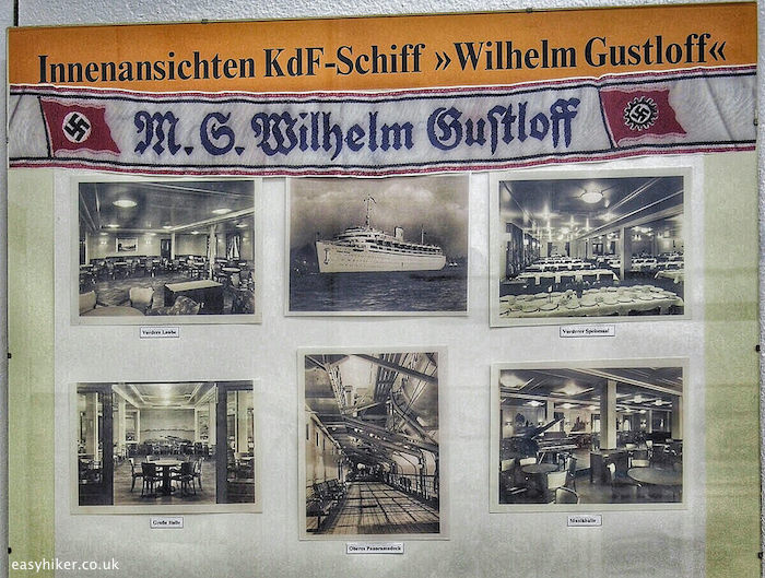 """newspaper clipping about Nazi cruise ship"""