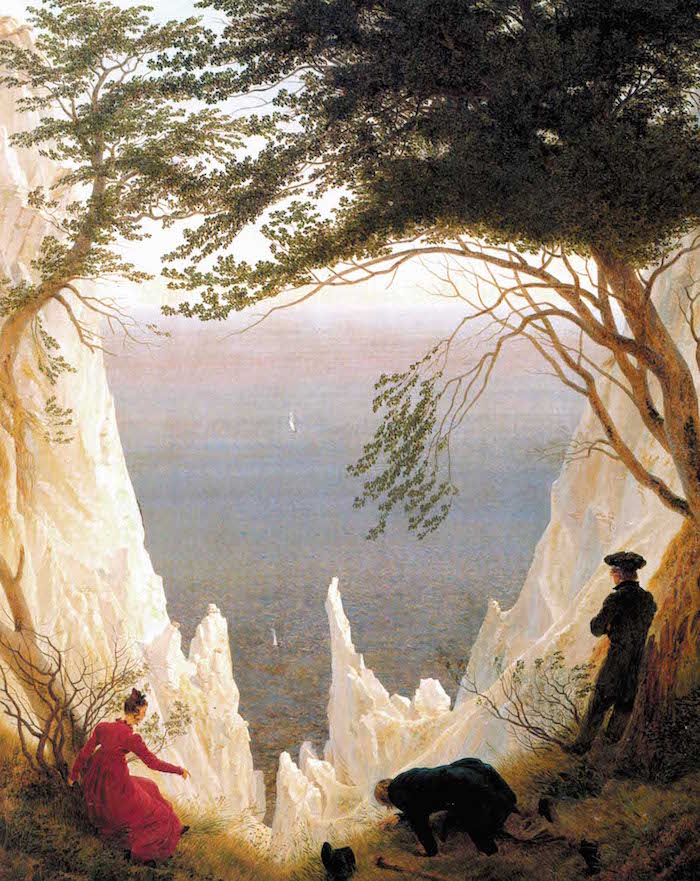 """Caspar David Friedrich's Chalk Cliffs of Rügen"""