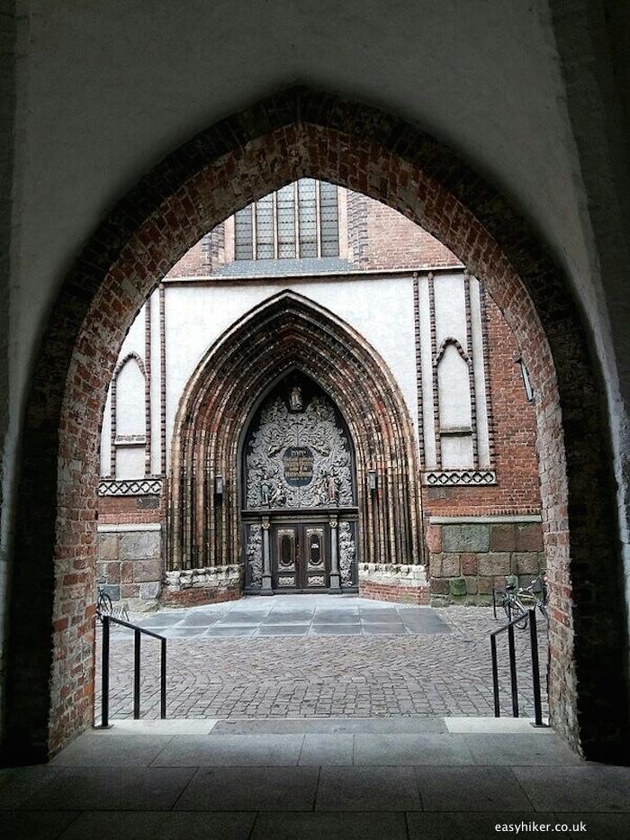"""""""the way to St Nikolai in Stralsund"""""""