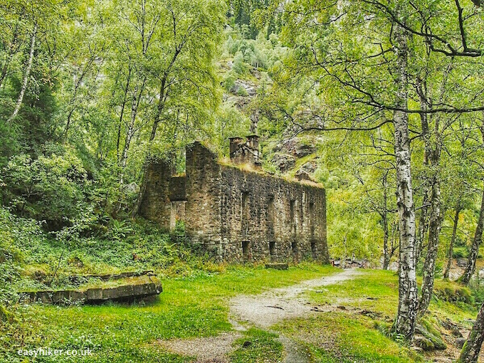 """""""abandoned house along the hike around Lake Antrona"""""""