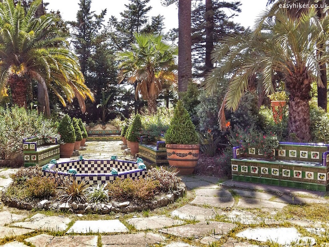 """inside Fontana Rosa Most Famous Garden on the Riviera"""