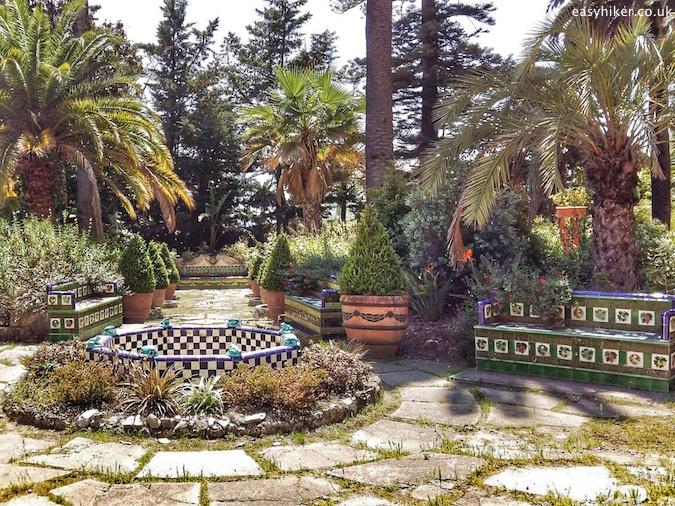 """inside the Glorious Fontana Rosa Garden"""
