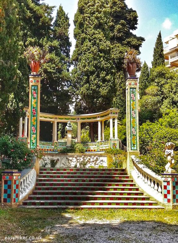 """the spendour of the Glorious Fontana Rosa Garden"""