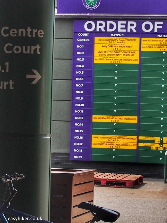 """centre court of Wimbledon"""