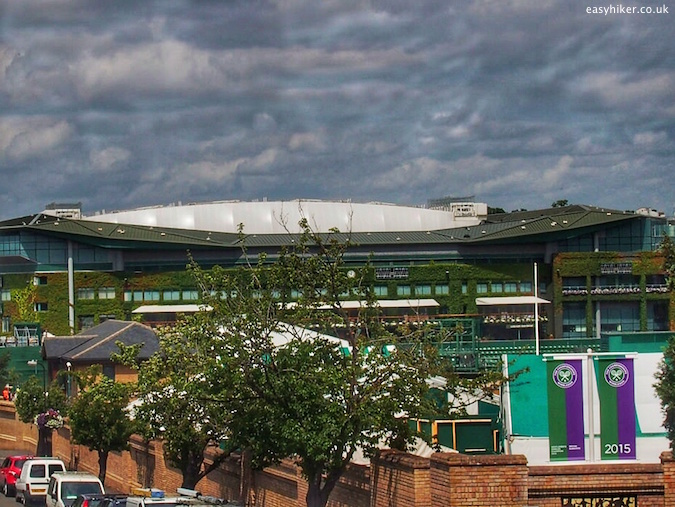"""overview of the centre court of Wimbledon"""