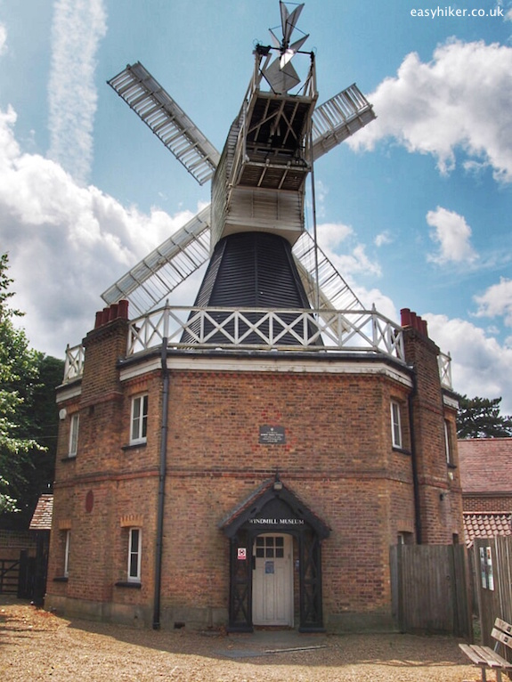 """a windmill in Wimbledon Common"""