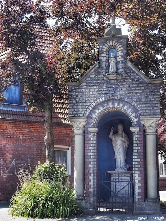 """Bildstock or roadside shrine"""