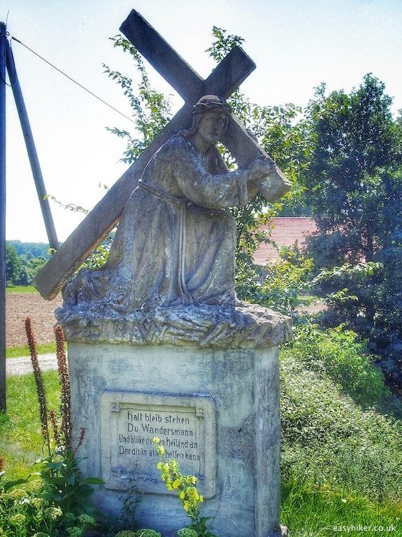 """roadside shrine of Christ the Saviour"""