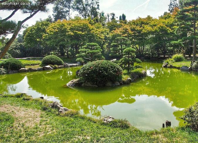 """A Zen Japanese Garden in Duesseldorf"""