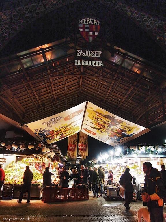 """Mercat La Boqueria - Eating Well in Barcelona"""