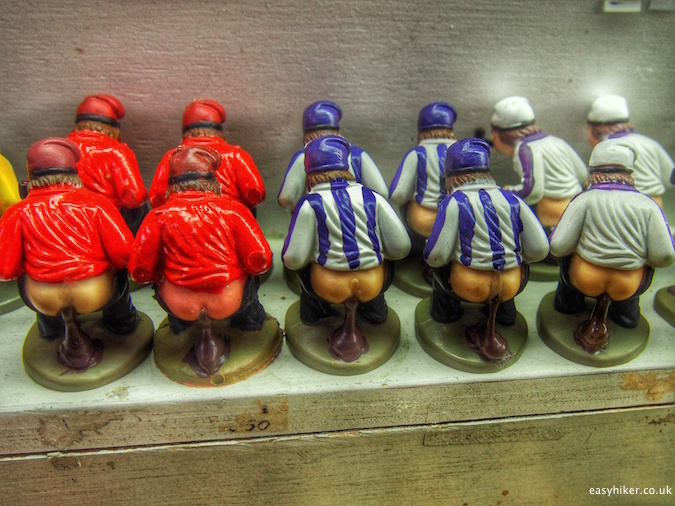 """Caganers - Traditional Catalan Christmas figures"""