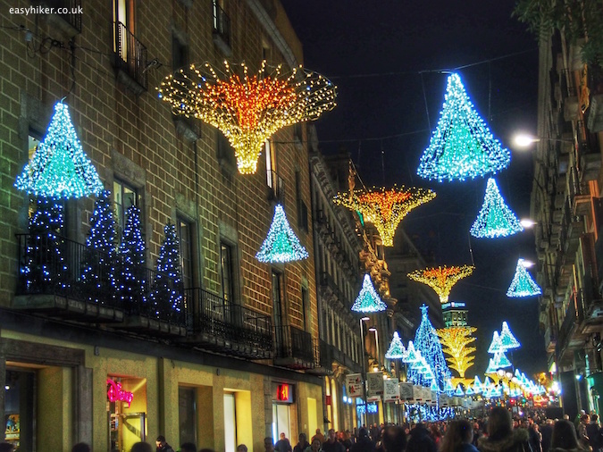Barcelona - City of Christmas Lights
