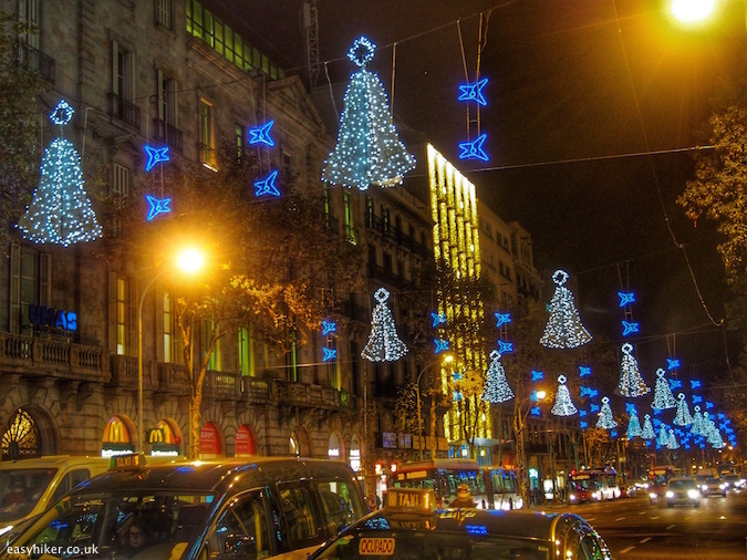 """Barcelona - City of Christmas Lights"""