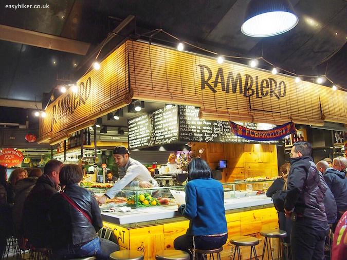"""Ramblero at Boqueria - Eating Well in Barcelona"""