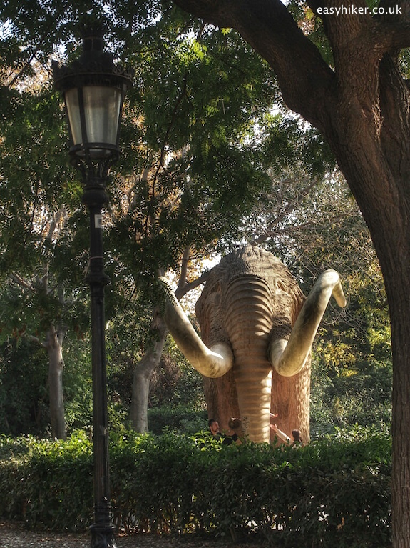 """Elephant statue in Parc de Ciutadella - Barcelona City Walks"""