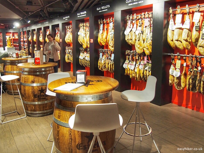 """""""Jamon Experience - Eating Well in Barcelona"""""""
