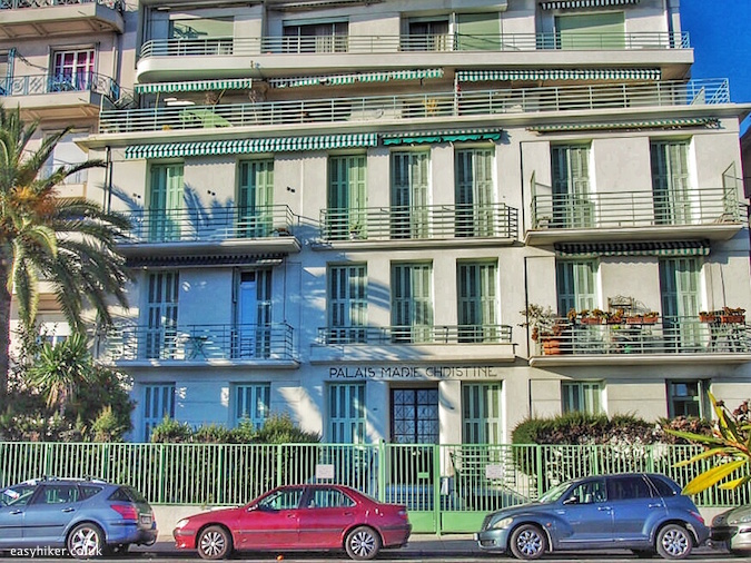 """where 3 German authors lived - Trail of Famous Writers in Nice"""