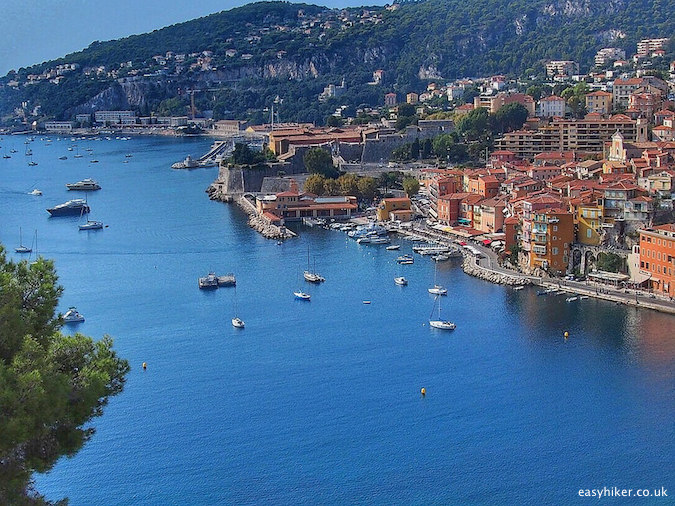 """the vibrant Villefranche Harbour"""
