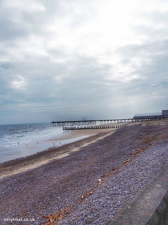 """Lowestoft seaside on quest of Sebald in the Suffolk Coast Path"""