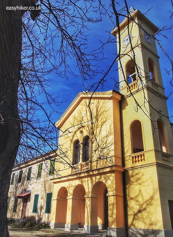 """church in San Romolo - Funiculaire of San Romolo is No More"""