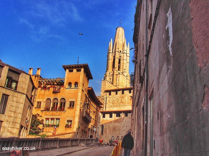 """inside the town of Girona"""