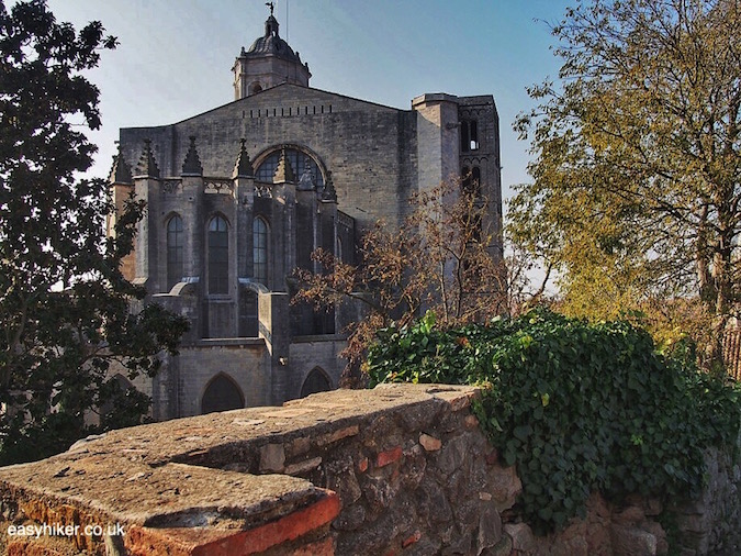 """finding the Great Wall of Catalonia in Girona"""
