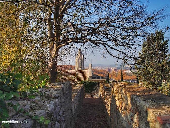 """Carolingian part of the Great Wall of Catalonia in Girona"""