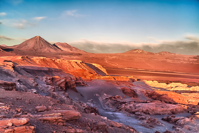 """Atacama desert valley - one of the Five Amazing Valleys"""