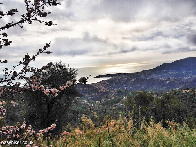 """Scrape and feel the Riviera Clouds Hiking Up Castellar"""